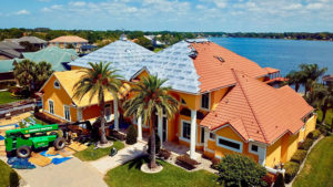 Lake Butler Home with tile roof