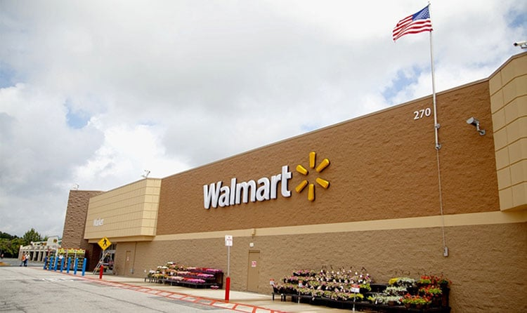 Walmart Roofing project